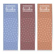 Vertical Banner Set Of Three Graphic Vintage Theme Vector Illustration Stock Illustration