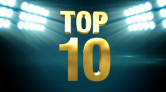 Top 10 - Sport Stock Footage