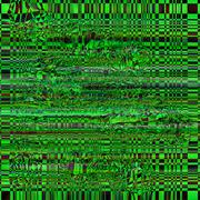 Vector color glitch screen background. Digital image data distortion. Chaos Piirros