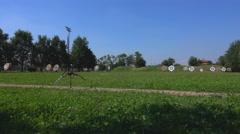 Target Archery: Archery Field, Target Stock Footage