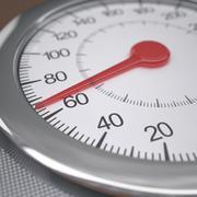 Weight Gain Stock Illustration