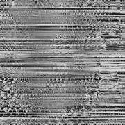 Black and gray image. Art abstract glitch textured background. Pattern Vector Stock Illustration