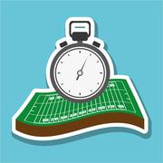 Soccer icon design , vector illustration Stock Illustration