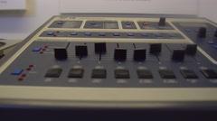 SP12 Vintage Drum Machine Stock Footage