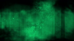 Grime grunge green and black loop Stock Footage