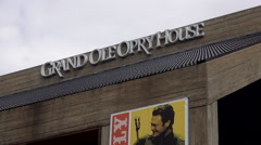 Famous Grand Ole Opry in Nashville Stock Footage