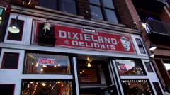 Dixieland Souvenir shop in Nashville Tennessee Arkistovideo