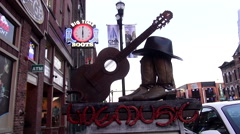 Live Music Venue on Broadway in Nashville Tennessee Arkistovideo