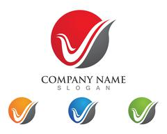 Fire flame Logo Template Stock Illustration