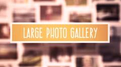 Large Photo Gallery Kuvapankki erikoistehosteet