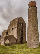 Magpie Mine, disussed lead mine, Sheldon, Ashford in the water, Derbyshire, U Stock Photos