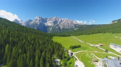 Misurina lake, Dolomites – Italy Stock Footage