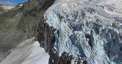 Glacier - Melting glaciers_part.2 Stock Footage
