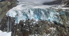 Glacier - Melting glaciers_part.1 Stock Footage