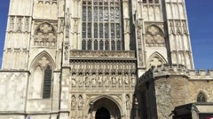 Westminster Abbey, London Stock Footage