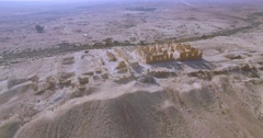 Ancient site in israel Stock Footage
