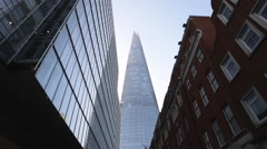 Move to Shard Building London Stock Footage