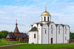 Annunciation Church and Church of Holy Prince Alexander Nevsky, Vitebsk Stock Photos
