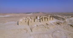 Archeology Ancient site in israel Stock Footage