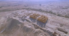 Archaeological site in nitzana, Israel Stock Footage