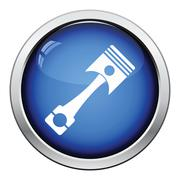 Car motor piston icon Stock Illustration