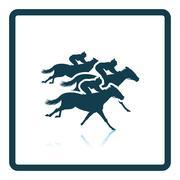 Horse ride icon Stock Illustration