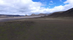 Flatlands in Cotopaxi National Park Stock Footage