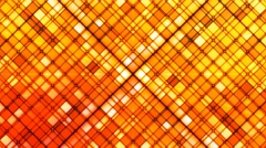 Broadcast Twinkling Cubic Diamonds, Orange, Abstract, Loopable, 4K Stock Footage