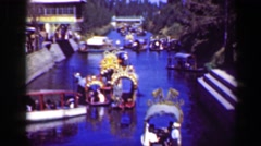 1951: Candelaria docking loading zone river boat tourist cruise trip leisure Stock Footage