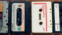 Old mixed tape found amongst Stock Footage