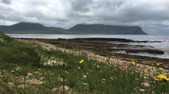 4K UltraHD A View of Warbeth Beach, Orkney Stock Footage