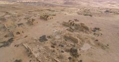 Ancient Buildings in israel Stock Footage