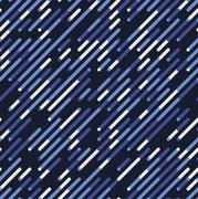 Vector Seamless Blue Shades Diagonal Lines Irregular Geometric Pattern Stock Illustration