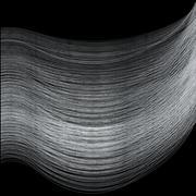 Fine Silver Thread Stock Illustration