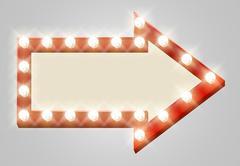 Arrow Sign Stock Illustration