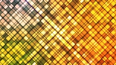 Broadcast Twinkling Cubic Diamonds, Multi Color, Abstract, Loopable, 4K Stock Footage