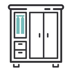 Furniture icon vector illustration Stock Illustration