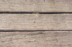 Texture of wooden slats in horizontal order Stock Photos