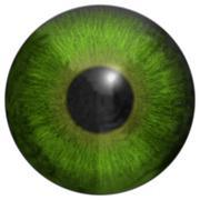 Eye iris generated hires texture Stock Illustration