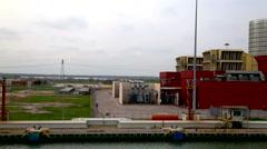 Plant at port of Ravenna Macrh 2016 Stock Footage