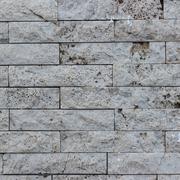 Vulcanic Stone bricks. Stock Photos
