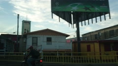 Streets of Belize City Stock Footage