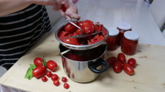Tomato sauce Stock Footage
