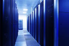 Close up modern interior of server room, Super Computer Kuvituskuvat