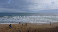 Twelve Apostles Beach, Great Ocean Road, Australia Stock Footage