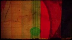 Anim  paint grunge background Stock Footage