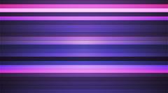 Broadcast Twinkling Horizontal Hi-Tech Bars, Purple, Abstract, Loopable, 4K Stock Footage