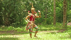 Classical,folk and regional dance of Thailand Stock Footage