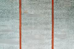 Obsolete grunge metal surface texture Stock Photos