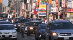 Toronto Chinatown downtown Stock Footage